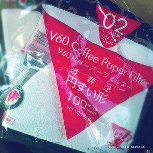 V60 Coffee Paper Filters for Pour-over Coffee