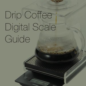 Pour Over Coffee Digital Scale