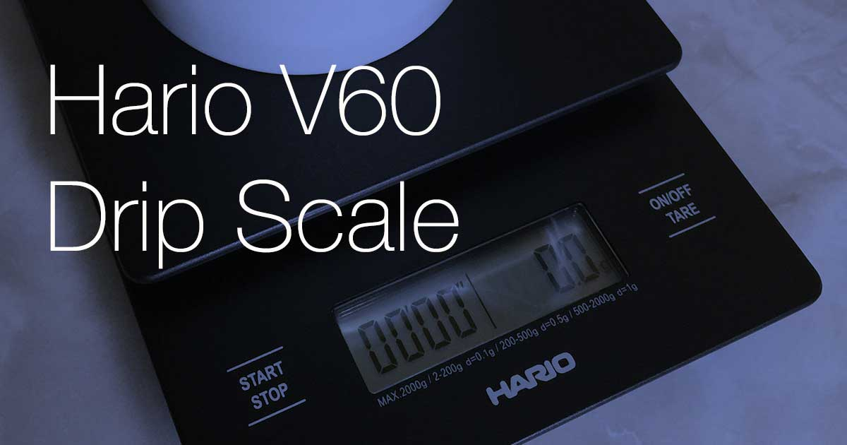 Hario V60 Drip Scale Review 2 Years Later