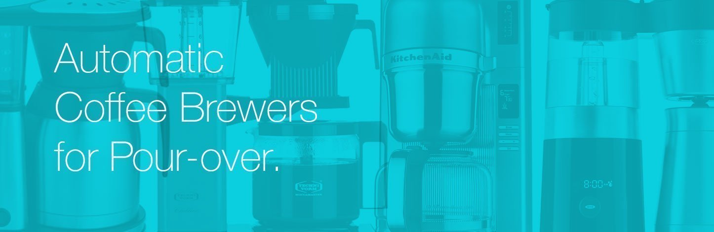 Automatic Brewers for Pout-over Coffee