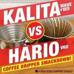 Hario V60 vs Kalita Wave Coffee Dripper