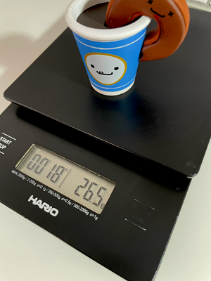 Hario V60 digital scale 6 years old