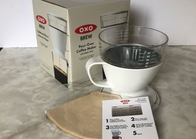 OXO BREW pour-over coffee maker-