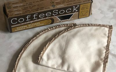 Reusable Coffee Filter by CoffeeSock for Hario V60 Drip Brewers